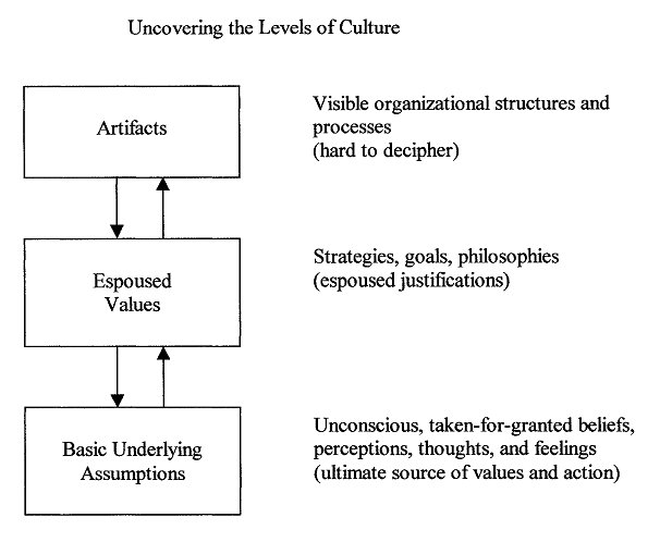 dimensions of culture underlying assumptions Chapter 2: literature review  authors have generated many culture dimensions over the past few  taken-for-granted values the underlying assumptions,.